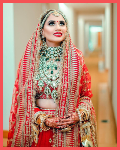 This Bride Wore A Lehenga Similar To Rhea Kapoor & Looked ...