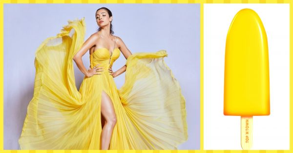 Summer Special! Malaika Arora Looks Like A *Yummy* Mango Duet In This Yellow Gown