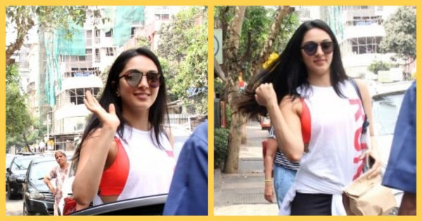 First Class Hai: Kiara Advani Makes Heads Turn In A Stylish Neon Sports Bra
