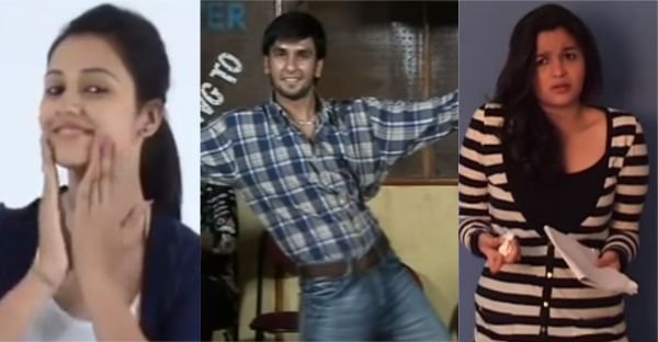 VIDEOS LEAKED! These Rare Audition Tapes Of Your Favourite Celebrities Will Leave You Shook