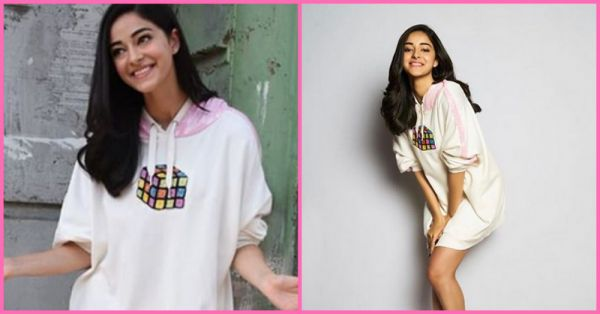 Pretty In Pink: Ananya Pandey's No-Pants Hoodie Look Is The Highlight Of Our Feed Today