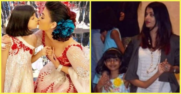 What The F*ck: Aishwarya Rai Gets Trolled For Holding Daughter Aaradhya's Hand