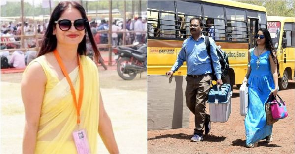 Why Have Election Polling Officers Reena & Yogeshwari's Pictures Gone Viral?