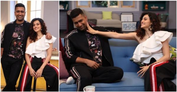 Taapsee Pannu Says Vicky Kaushal Is 'Marriage Material' & Now I Am Waiting With A Varmala