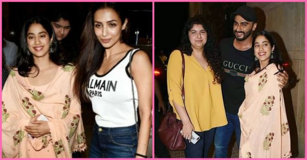 Hum Saath Saath Hain? Malaika Arora Spends Time With Arjun Kapoor's Sisters Janhvi and Anshula