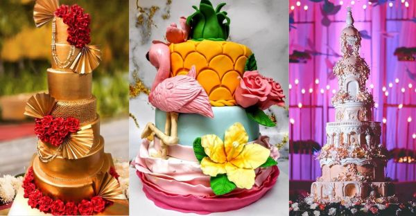 These Fabulous Bakeries In & Around Delhi Will Make Your Dream Wedding Cake Come Alive