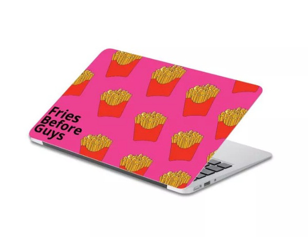 Fries before guys Laptop Skin