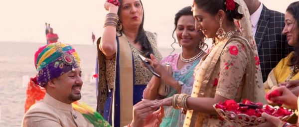 Video: Real-Life Princess Mohena Kumari Singh's Engagement By The Beach Is SO Romantic!