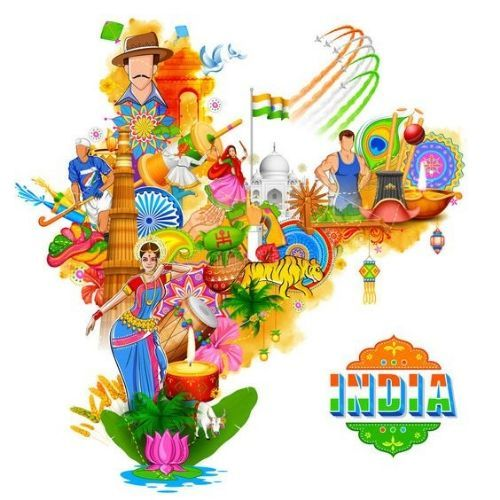 Indian Cultural background on independence  day