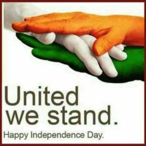 Unity Message on Indian Independence day