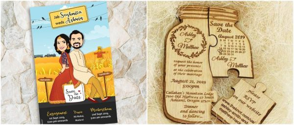 Save The Date: 30 Gorgeous And Super-Fun Wedding Invites For Every Kind Of Couple