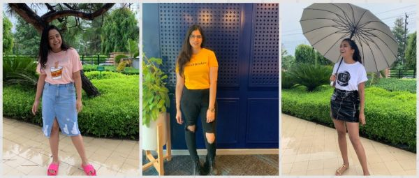 Team POPxo Shows You How To Style A Slogan T-Shirt In 6 Different Ways!