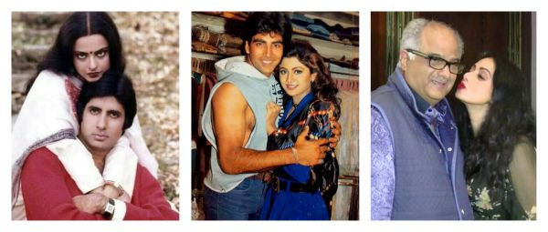 Saheb, Biwi Aur Woh: 8 Of The Most Controversial Real-Life Bollywood Love Triangles