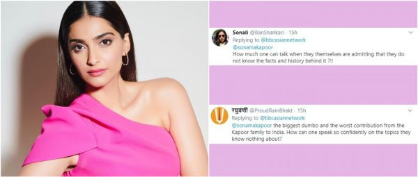 Trolled Some More: Twitter Slams Sonam Kapoor For Her Views On Scrapping of Article 370