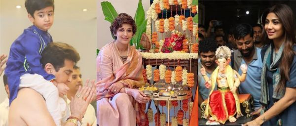 Ganesh Chaturthi: Bollywood Stars Bring Bappa Home To Kick-Start Ganpati Celebrations