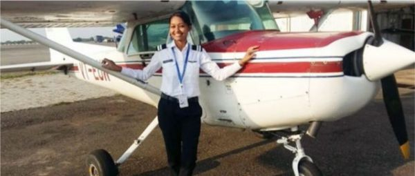 Proud Indian: Meet Anupriya, The 1st Tribal Woman From Odisha To Fly A Commercial Plane