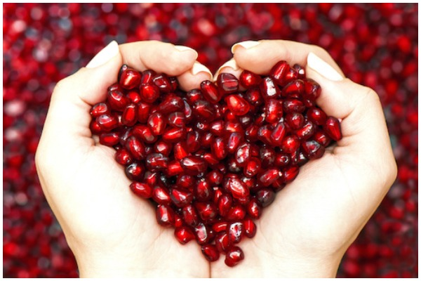 Pomegranate beneficial in blood pressure
