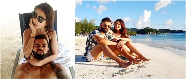 Manyavar Swimwear? #Virushka's Latest Beach Picture Starts A Meme Fest On Twitter