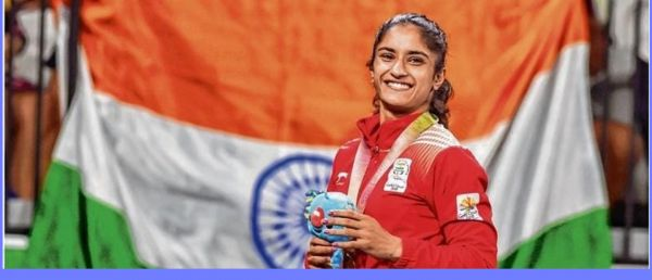 Vinesh Phogat Is The First Indian Wrestler To Qualify For 2020 Olympics & We Are So Proud!