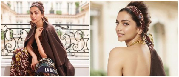 Deepika Padukone Rocks Paris Fashion Week In A Chic Vintage Dress & We Can't Stop Gushing!