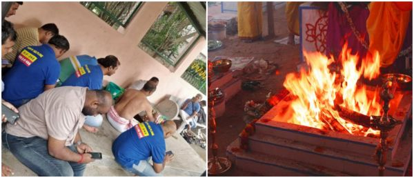 Feminism is Cancer? Men's Rights Group Performs Puja To End #MeToo & We Are Quite Shocked