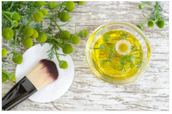 Chamomile Face Pack, Makeup Brush