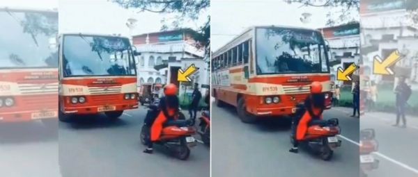 Don't Mess With Her: Badass Kerala Woman Teaches Valuable Lesson To Bus Driver
