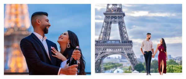 From LA To Paris: This Proposal Was Full Of Romantic Adventures On A 7-Day Scavenger Hunt