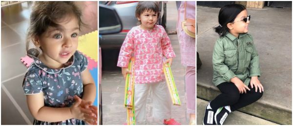Taimur, Inaaya & Ziva Were Caught On Camera Doing The Most Aww-dorable Things