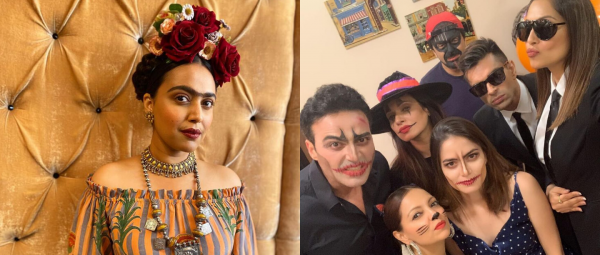 From Frida Kahlo To Sexy Kittens, Here's How Bollywood Celebrated Halloween This Year!