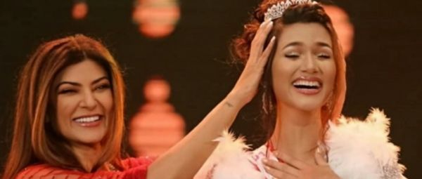 Sushmita Sen Crowns First Ever Miss Universe Contestant From An Asian Muslim Country