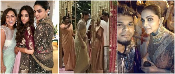 Deepika Padukone's Stunning Pics From BFF's Wedding Will Make You Want To Copy Her Look
