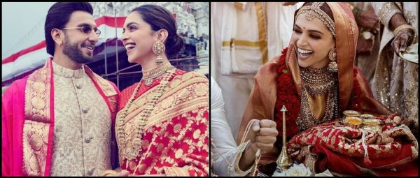 So Sweet: Deepika Wore The Same Saree Gifted By Ranveer's Parents On Their Wedding!