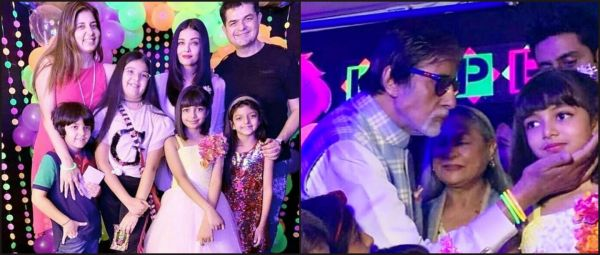 Aaradhya Bachchan Celebrated Her Birthday With Her Entire Family & We've Got All The Pics