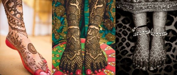 The Prettiest Bridal Mehendi Designs For Your Feet That You'll Love!