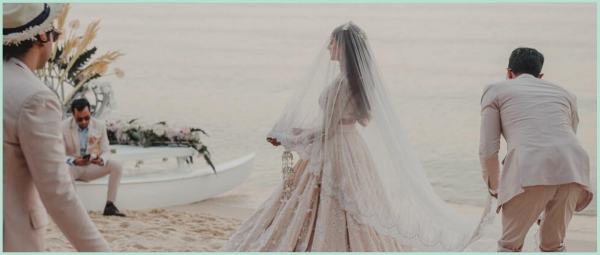 These 9 Brides Will Inspire You To Add The Charm Of A Veil To Your Bridal Look