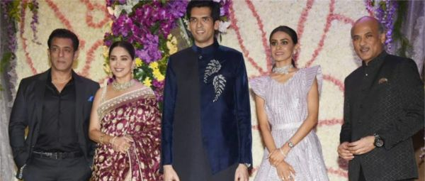 Just Like A Sooraj Barjatya Film, His Son's Wedding Was Full Of Celebs & Camera Flashes!