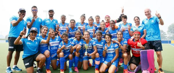 Chak De India! Our Junior Women's Hockey Team Wins 3-Nations Hockey Tournament
