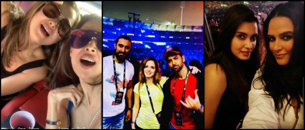 Arre, Tum Yahan? Bollywood Celebs Reunited At A Concert & Flooded Instagram With Pics!