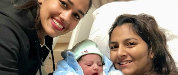 Xmas Came Right On Time! Geeta Phogat Welcomes Baby Boy With The Cutest Picture