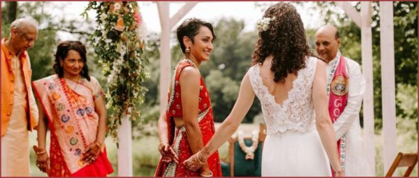Same-Sex Couple Ties The Knot In A Gorgeous Ceremony & Their Pictures Are Out Of The World