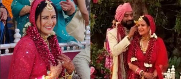 Mona Singh's Shaadi Pictures Are A Visual Treat & We Can't Take Our Eyes Off The Bride!
