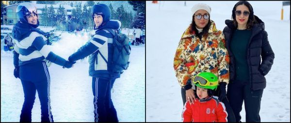 From PC And Nick To Bebo And Taimur, Celebrities Are Enjoying A Snowy Holiday Season!