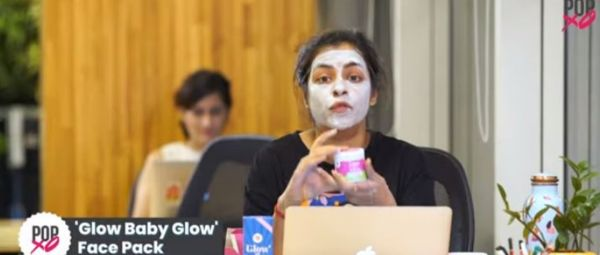 Sorry, Gotta Glow: Ragini Reviews Our Glow Baby Glow Aloe Vera Face Pack