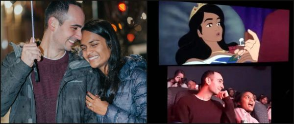 Man Proposes To GF By Editing Himself Into A Disney Movie & We're Swooning!