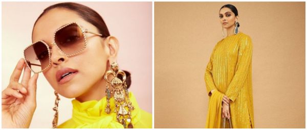 Deepika Padukone's Yellow Suit Is Just What You Need For Your Bestie Ki Haldi