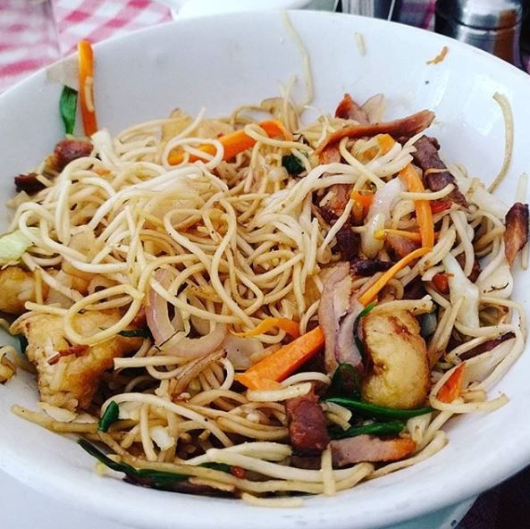Chinese food- wanley prawn noodles