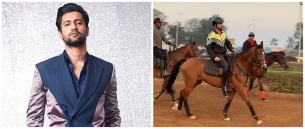 Vicky Kaushal Is The Prince Charming Of Our Dreams As He Goes Horse-Riding For Takht