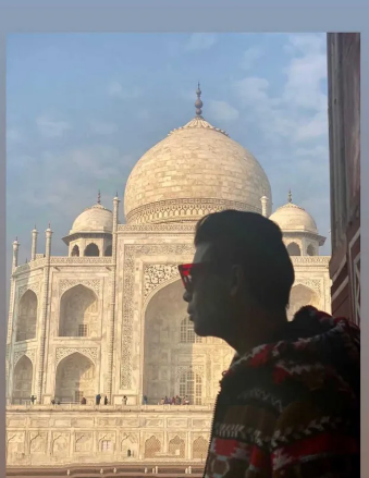 karan johar at taj mahal for takht