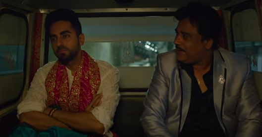 ayushmann and his uncle in shubh mangal zyada saavdhan